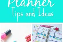 Planner Tips / Planning, planners, Filofax, Erin Condren, The Happy Planner, A5, Personal Size, Plan with me, Bujo, Bullet Journal, planner set up