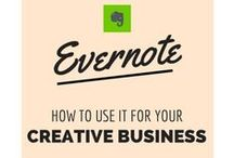 Evernote / What it is. How to use it and tips to make it part of your business arsenal.
