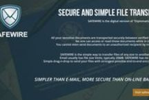 safewire.it / Secure and Simple File Send. SIMPLER THAN EMAIL, MORE SECURE THAN ONLINE BANKS