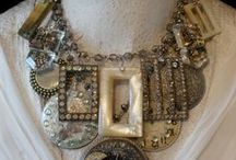 Upcycled, Repurposed & Vintage jewelry / by Terry Armstrong Stewart Heald