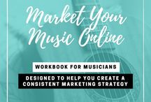 Music Marketing / Social media ideas for marketing your music online. Visit www.katherineforbes.com to read more on the blog!