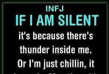 Personality Quotes / INFJ, Introvert, Empath, A-type...