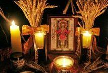 Lammas (Lughnasadh) Celebration / 1st August to mark the Harvest period