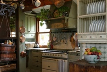 Kitchens - Realistic & dream / Ways to decorate my tiny kitchen and dreams of the perfect kitchen.