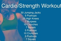Fitness (workout plans) / by Tina Johnson