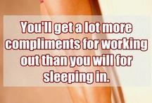 Fitness (words) / by Tina Johnson