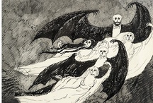 Edward Gorey / Edward St. John Gorey (February 22, 1925 – April 15, 2000) was an American writer and artist noted for his macabre illustrated books.
