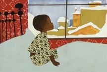 Ezra Jack Keats / Ezra Jack Keats (1916 - 1983) illustrated over 85 books, and wrote and illustrated 22 children's classics.         http://www.ezra-jack-keats.org/