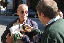 """Blessing of the Pets / Each year, on or near the feast of St Francis, friends and members come to St Mark's to have their pets blessed. """"Let all things now living a song of thanksgiving to God the creator triumphantly raise."""""""