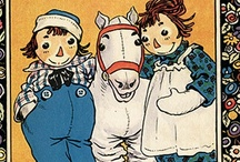 Johnny Gruelle / Johnny Gruelle (December 24, 1880 – January 9, 1938) was an American artist, political cartoonist, children's book author and illustrator (and even songwriter). He is known as the creator of Raggedy Ann and Raggedy Andy. He had such confidence in his design that often he would create the final ink work without first sketching in pencil.