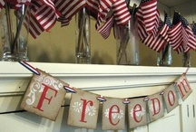 Patriotic decorations / Decorating for the 4th of July, Memorial Day and Labor Day.