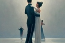 Vettriano Art / I've been a fan for years because every time I look at one of his paintings a story begins to form in my imagination.  Love it!