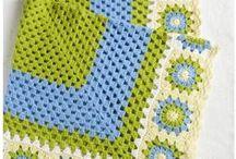 Grannysquare-Love - Bunte Quadrate häkeln / Schönes aus bunten Grannysquares - #häkeln #grannysquares #crochet