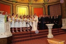 Church weddings / Marriage is a gift of God, intended for the joy and mutual strength of those who enter it and for the well-being of the whole human family. If you would like to be married at St. Mark's church, please speak to the pastor. www.stmarksbaltimore.org