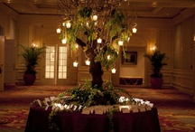 Tall Reception Arrangements by Botanica