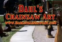 Dahl Chainsaw Art / by Just Imagine by Judy