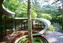 Exterior Architecture / by Linda Would Rather Be On A Beach