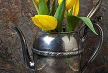 Tea Cups and Tea Pots