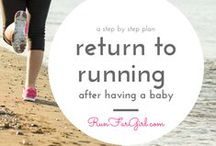 Running and Pregnancy / Inspiration and style ideas for running during pregnancy.