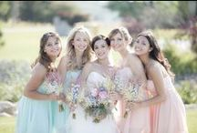 Bridal Party Style Inspiration / Contact us today so we can help you with your wedding planning! www.eventsbywhim.ca