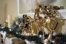 Christmas Home Decor,Home for the Holidays / Christmas and Holiday Decorating Inspirations and Christmas Home Tours