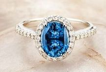 Ring Inspiration! / We love ring bling of all kinds, from diamonds to sapphires to every other kind of ring imaginable!  Contact us today so we can help you with your wedding planning! www.eventsbywhim.ca