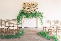Ceremony Decor / Ceremony decor inspiration from weddings we've done and weddings we've admired.  Contact us today so we can help you with your wedding planning! www.eventsbywhim.ca