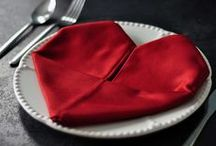 Napkin Folding Styles / This are the images featured from our blog post on different napkin folding style. See the original post here:  http://eventsbywhim.ca/blog/?p=321
