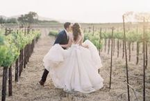 Vineyard Wedding / Wineries are the perfect backdrop for a romantic, and intoxicating wedding.   To see how we can help you plan your dream wedding, contact us today: www.eventsbywhim.ca