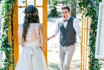 Groom's First Reaction / We are obsessed with first reaction photos - because they are beautiful and they really tug at the heart strings. Check out these beautiful first look photos and tell me that they don't make you smile - I dare you!  We want to help you have the best wedding day possible. Contact us today so we can bring your happily ever after to life. www.eventsbywhim.ca