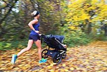 Stroller Running / Tips and inspiration for running with a stroller.