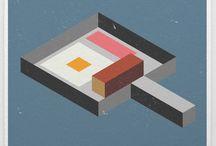 Isometrik / Vector illustrations by inkydigit