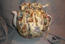 The Tea Room / All items having to do with Tea. Tea Cozies, Tea Bag Holders and Tea Pots.  The Homespun Loft