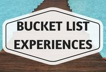 Bucket List Experiences / bucket list, around the world, rtw trips, do before you do, places to visit before you die, must visit places, must visit attractions, must have experiences, extreme travel