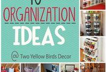 Organizational Ideas / by Rhonda King