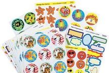 Reward Stickers / Stars, Smiles and messages of motivation and praise. Teacher stickers to assist the nursery and primary groups and Scratch n Sniff Reward Stickers that are a fun perfect way for rewarding good work at home or in school. Classroom Stickers are ideal for marking great work, assisting potty training and complimenting reward charts. Stickers are also a great way to celebrate special occasions such as Christmas, Halloween, Easter, Birthdays and other huge milestones in a child's life.