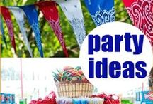 A plethora of parties and events. / Parties and Events Galore / by Leah Wininger