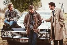 """Supernatural - my passion  / Sam: """"Dude, you punched a cupid.""""  Dean: """"No, I punched a dick."""" Castiel: """"Ass-butt!!!"""" / by Simona Winchester"""