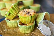 Cupcakes / a small cake designed to serve one person,