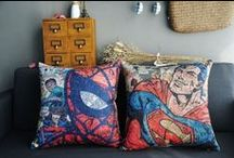 Spider-Man Decor Ideas / The Amazing Spider-Man 2 swings into theaters and into bedrooms everywhere with these ideas for your very own spidey decor.