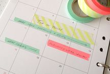 Planner Obsession (and printables)