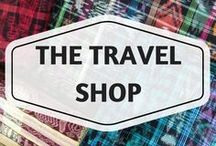 The Travel Shop / travel goods, travel gear, travel shop, shopping for travel, travel gifts, unique travel products, travel items, travel store