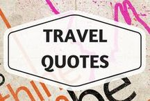Travel Quotes / Best Travel Quotes | Inspirational Quotes | Words Of Wisdom
