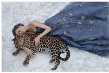 Woman with animal
