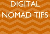 Digital Nomad Tips / If you would like to join this board, please follow all Jessie on a Journey boards and email jessie@jessieonajourney.com with your Pinterest associated email. All pins should include beautiful vertical images with text overlays.  Digital Nomad | Remote Worker | Freelancing | Blogging Tips