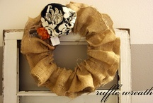 Wreaths Galore! / Find wreaths for every occasion here ranging from Christmas wreaths to Fall wreaths!