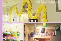 Alie's Rapunzel Party Inspiration / by Ami Allison