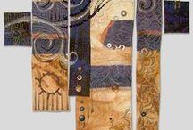 Fabric art / by Twocooltexans