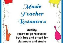 Music Class Resources / Providing music teachers with ideas and resources for the music classroom. / by MusicTeacherResources
