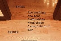 Mr. Sandless / Floor Refinishing by Mr. Sandless! Your Quick, No Sanding Solution to Beautiful Wood Floors!